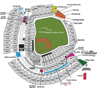 Cincinnati Reds Stadium Map 2019 Group Hospitality Pricing | Cincinnati Reds