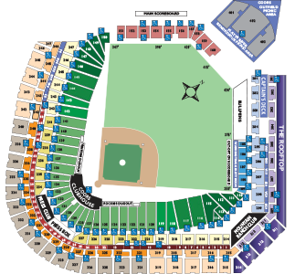 Rockies Stadium Map Single Game Ticket Pricing | Colorado Rockies Rockies Stadium Map