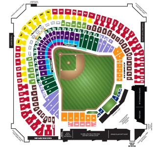 Globe Life Park Seating Map Groups Seating & Pricing | Texas Rangers